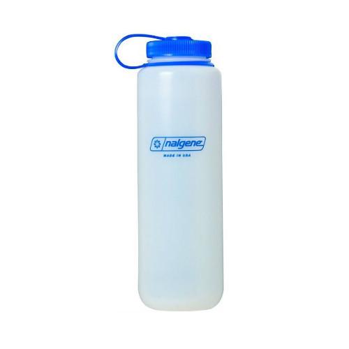 Nalgene Silo 48oz Tritan Wide Mouth Bottle Grey 2 Pack