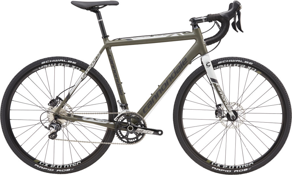 c1a8630e683 Cannondale CAADX Ultegra Disc Cyclocross Bike 2016 Green/White £1,499.99