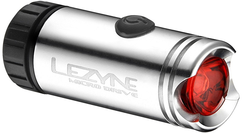 Lezyne Micro Drive Led Rear Bike Light Silver
