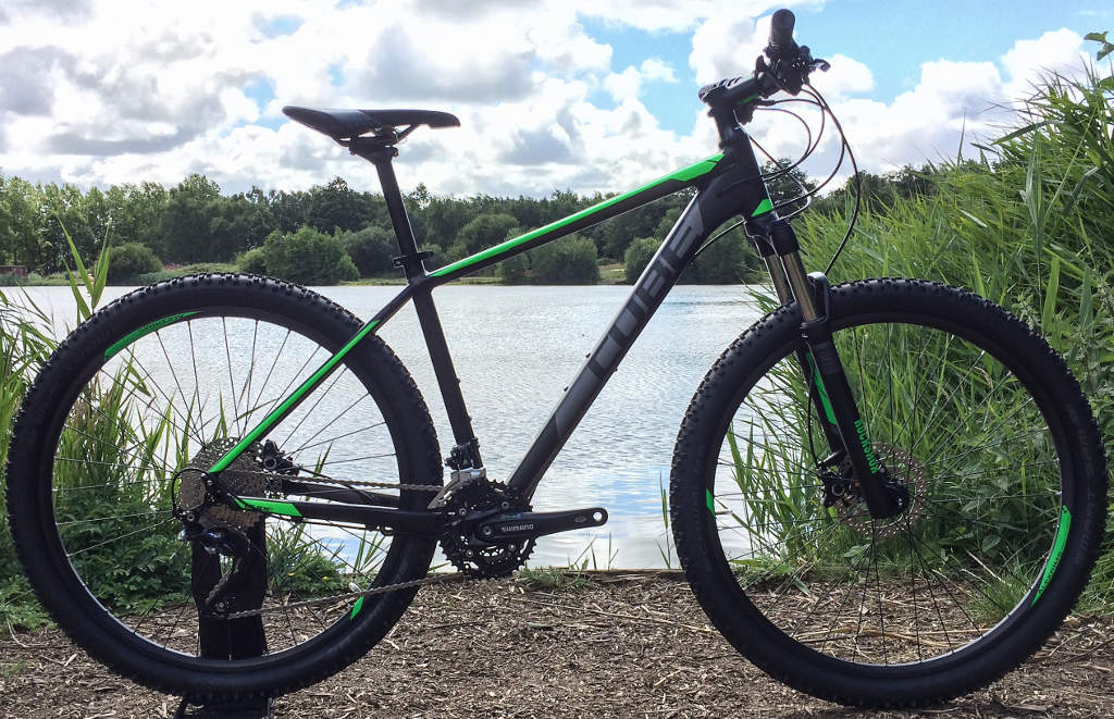 shop best sellers check out later Cube Attention 29er Hardtail Mountain Bike 2016 Black/Green ...