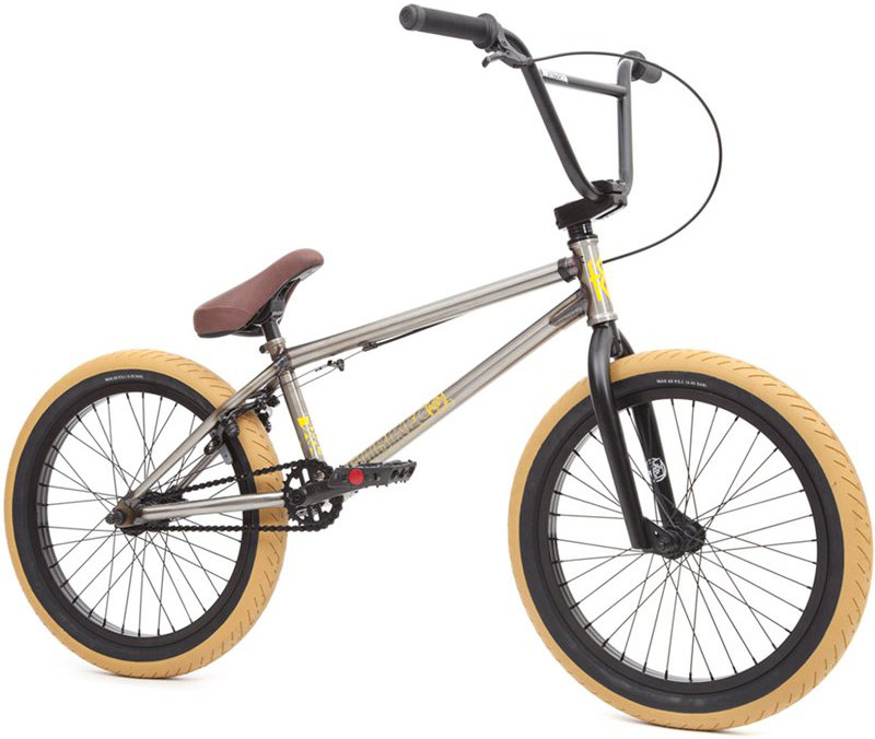 Fit Conway 1 BMX Bike 2016 Gloss Clear Raw £439.99