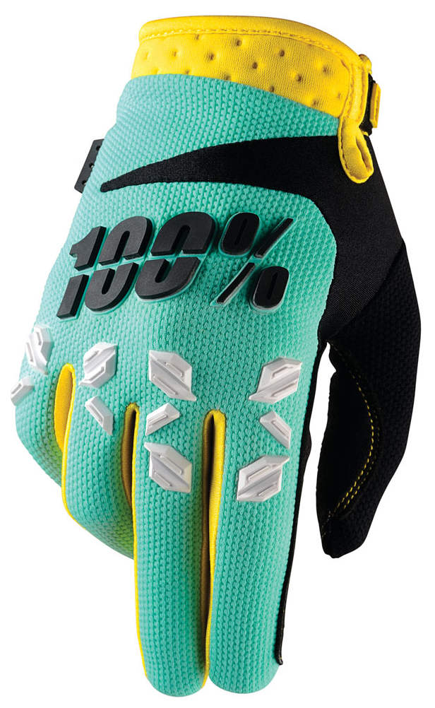 100 Percent Airmatic Gloves Mint