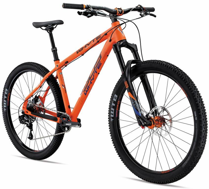 Whyte 905 RS 650b Hardtail Mountain Bike 2016 Matt Orange Blk Denim ... 499aa85011519
