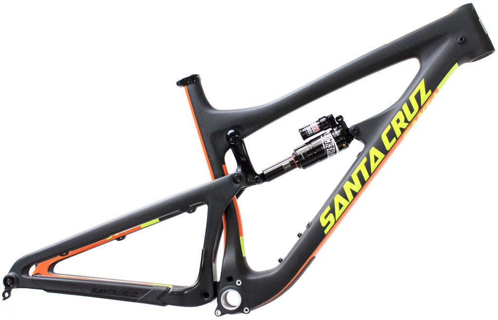 Santa Cruz Nomad Carbon CC Mountain Bike Frame 2016 Matt Black ...