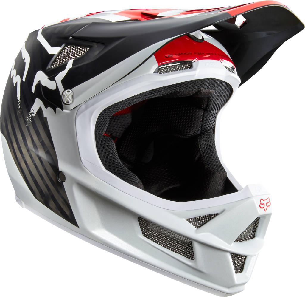 Fox Rampage Pro Carbon Full Face Mips Helmet Libra White £345.00 75f04638bd
