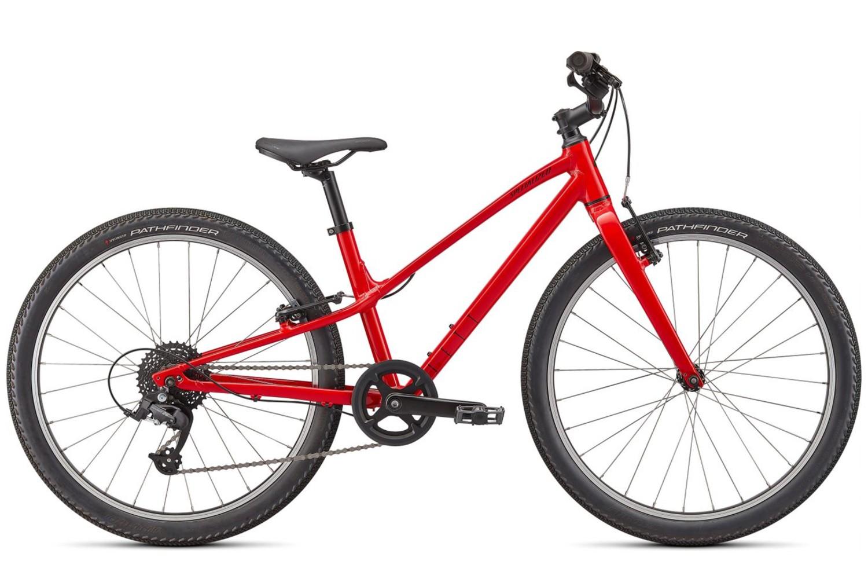 Specialized Jett 24 Kids Mountain Bike 2022 Gloss Flo Red/Black