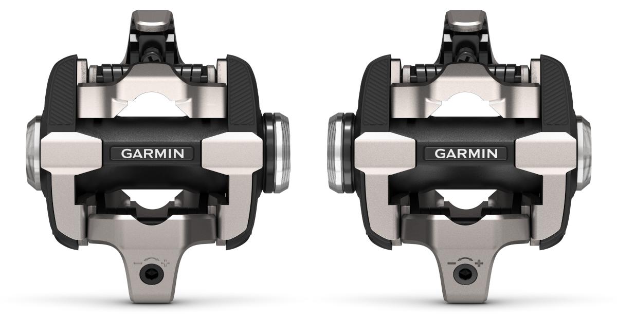 Garmin Rally XC Pedal Body Conversion Kit Silver