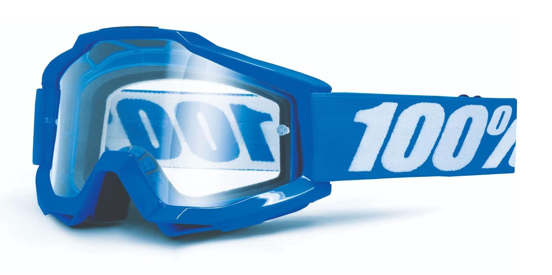 100 Percent Accuri Otg Goggles Gunmetal/clear Lens