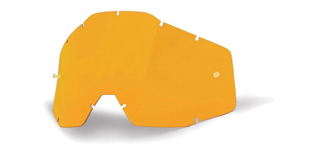 100 Percent Accuri/racecraft/strata Anti-fog Lens Orange