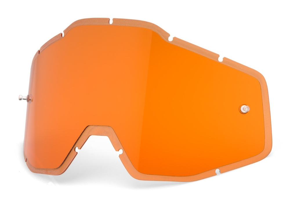 100 Percent Racecraft/accuri/strata Anti-fog Injected Lens Hd Orange