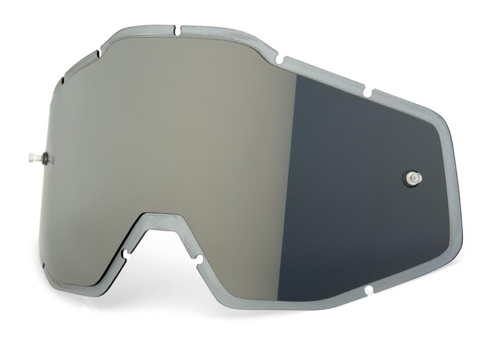100 Percent Racecraft/accuri/strata Vented Dual Pane Lens Gold Mirror