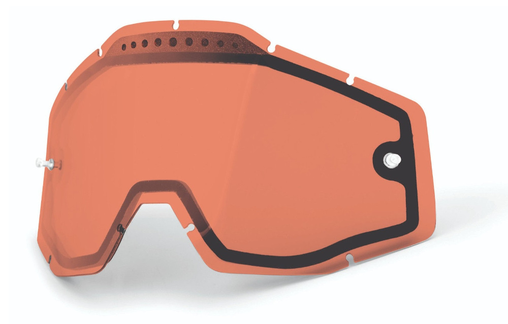 100 Percent Racecraft+ Goggles Gustavia/injected Silver Mirrored Lens