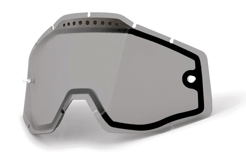 100 Percent Racecraft+ Goggles Jiva/injected Silver Mirrored Lens