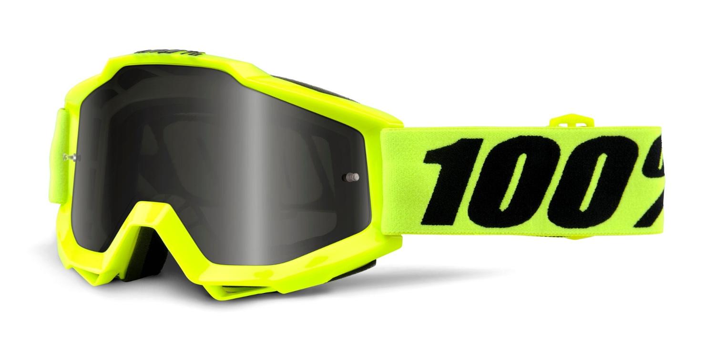 100 Percent Accuri Sand Goggle Reflex Blue/grey Smoke Lens