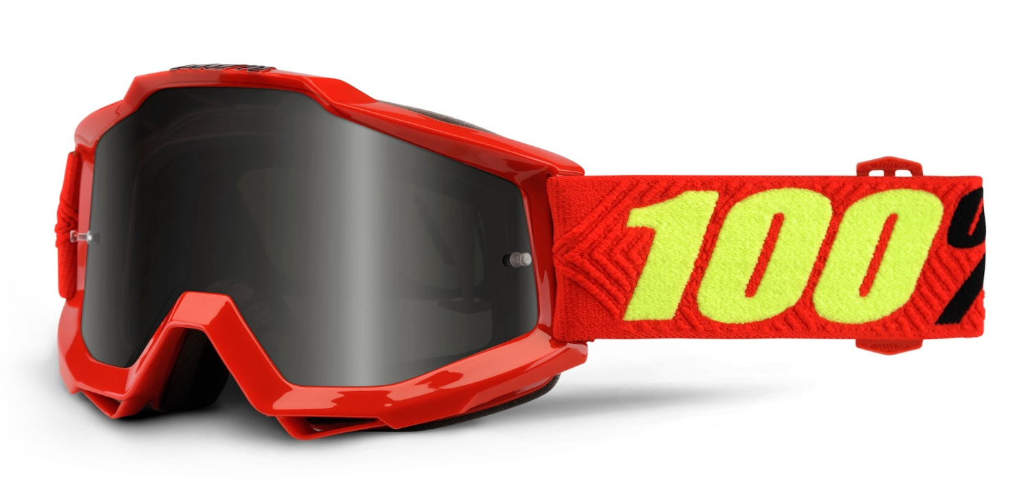 100 Percent Accuri Sand Goggles Saarinen/grey Smoke Lens