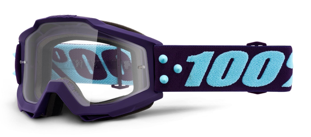 100 Percent Accuri Youth Goggles Framboise/red Mirrored Lens