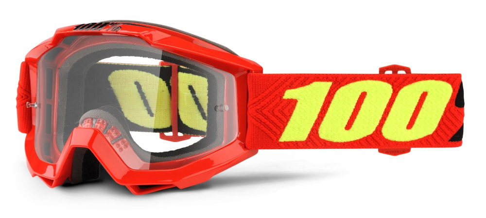 100 Percent Accuri Youth Goggles Saarinen/clear Lens