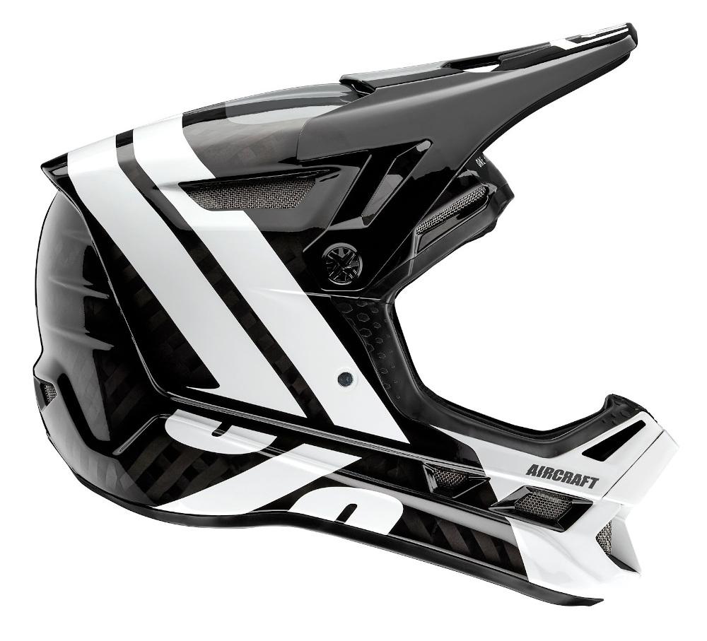 100 Percent Aircraft Carbon MIPS Full Face Helmet Nightfall