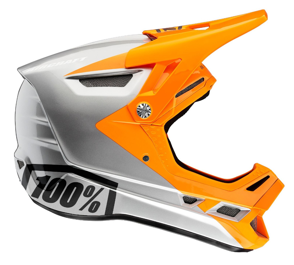 100 Percent Aircraft Composite Full Face Helmet Ibiza