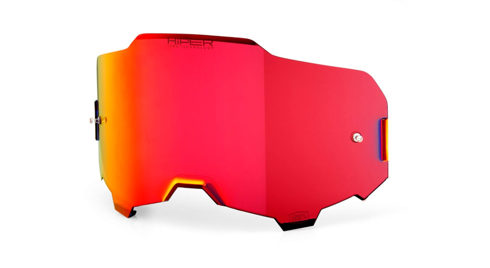 100 Percent Armega Goggle Hiper Replacement Lens Red Mirror