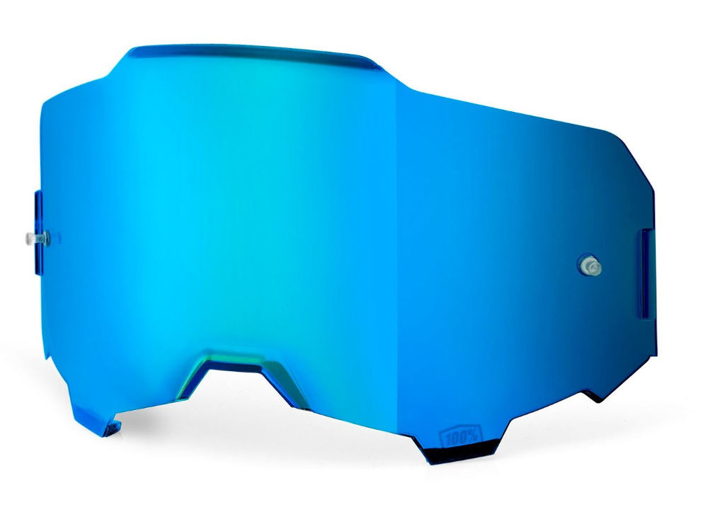 100 Percent Armega Goggle Ultra Hd Replacement Lens Blue Mirror