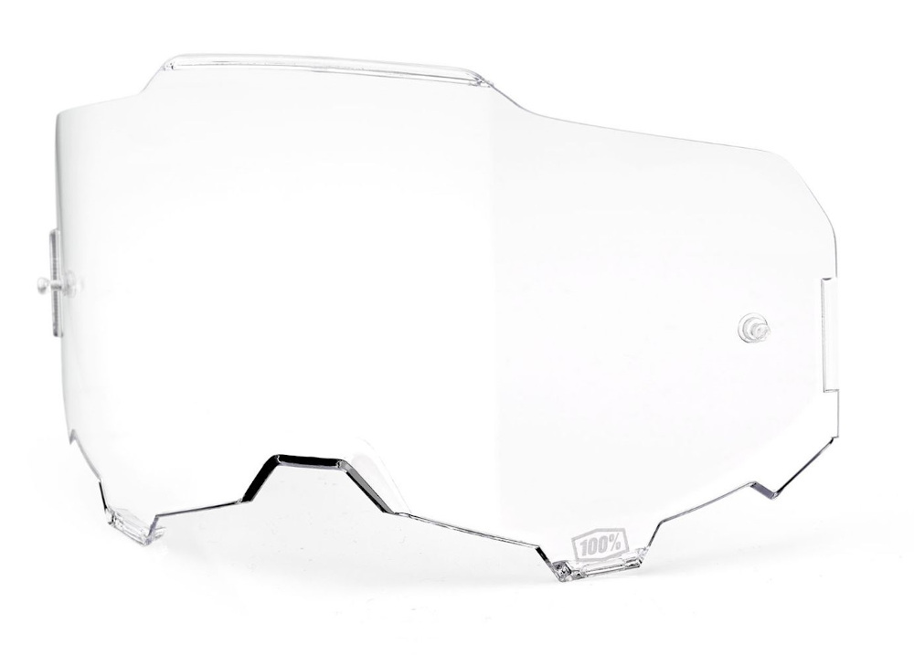 100 Percent Armega Goggle Ultra Hd Replacement Lens Clear