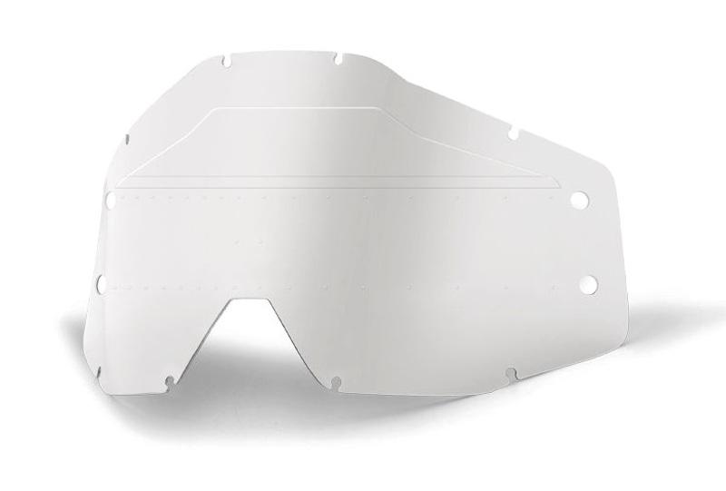 100 Percent Accuri/strata Forecast Sonic Bumps Dual Lens Smoke