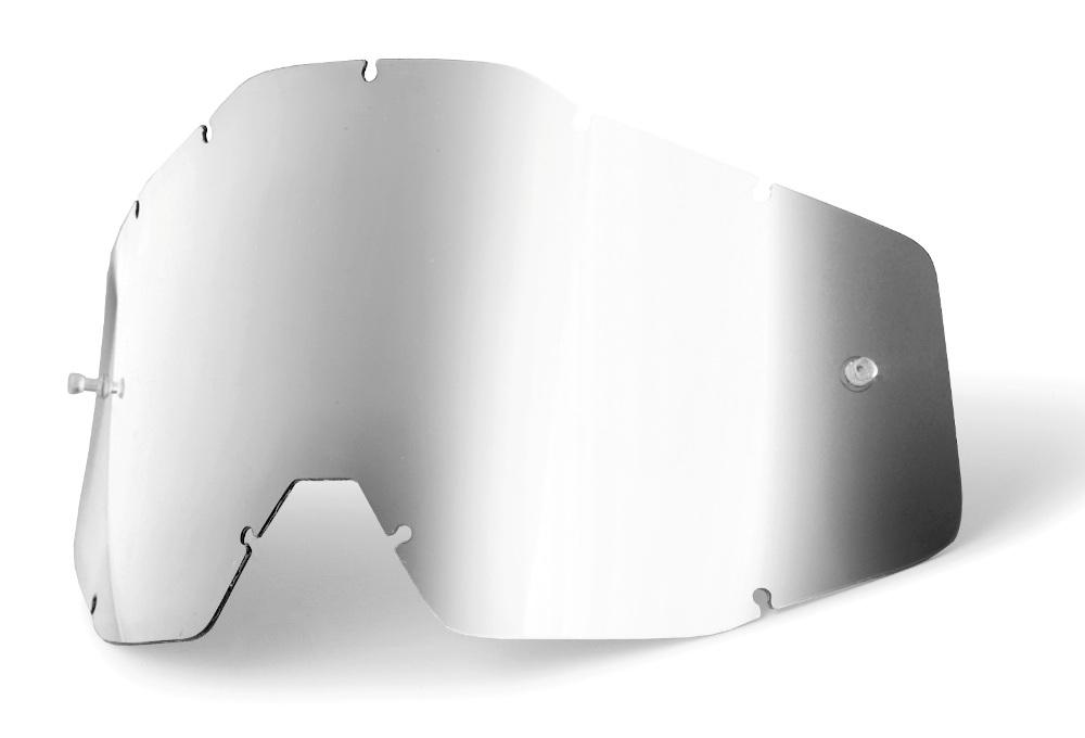 100 Percent Accuri/racecraft/strata Anti-fog Lens Yellow