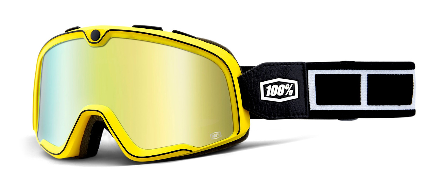 100 Percent Barstow Goggles Burnworth/gold Mirrored Lens