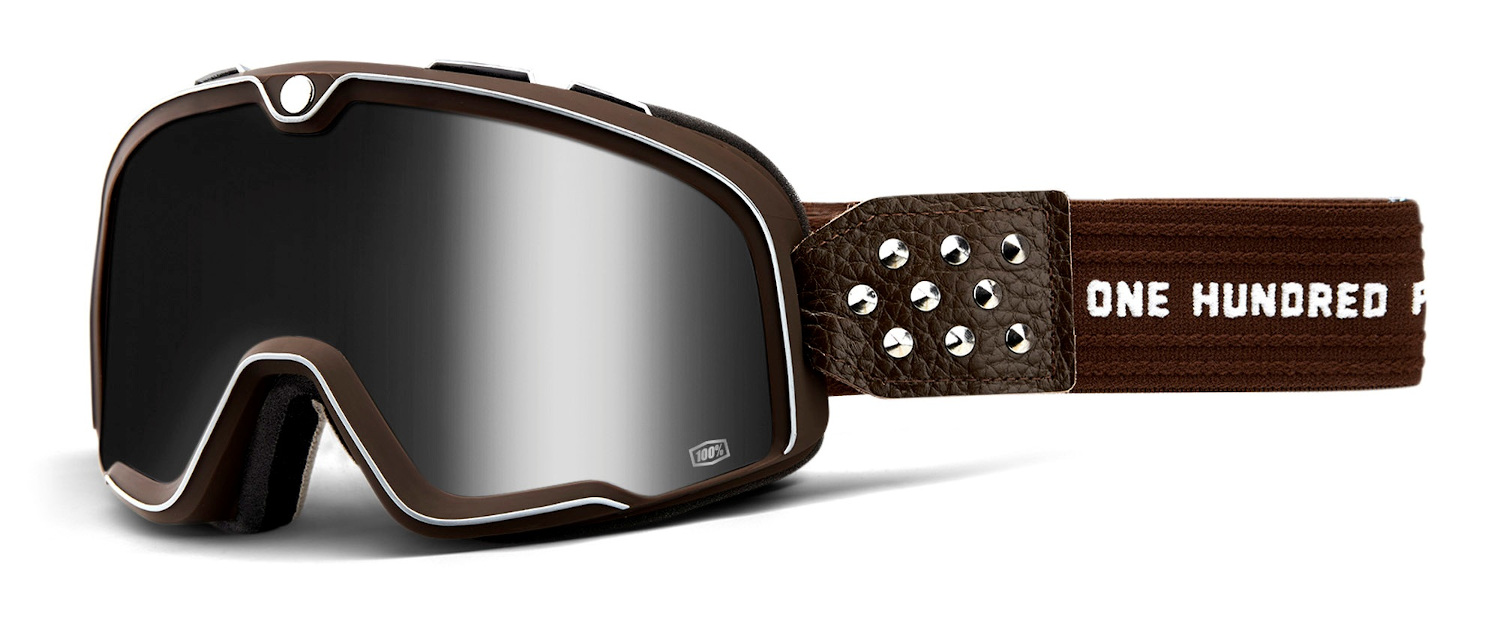100 Percent Barstow Goggles Garage/silver Mirrored Lens