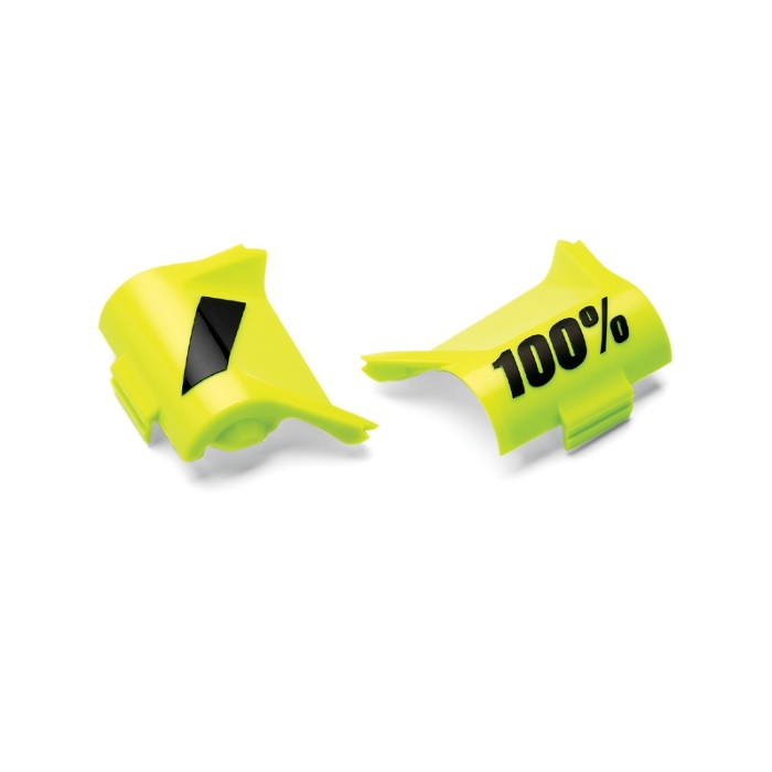 100 Percent Forecast Canister Cover Kit Fluorescent Yellow/black