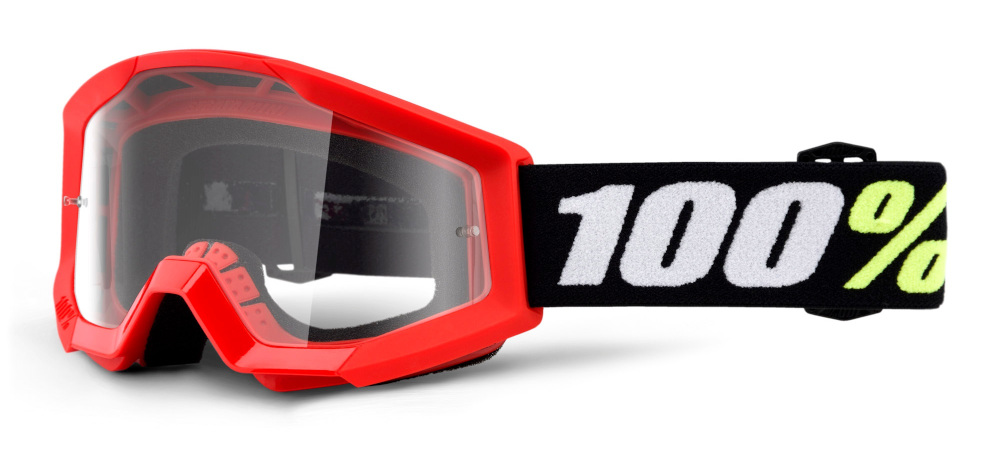 100 Percent Strata Youth Goggles Furnace/clear Lens