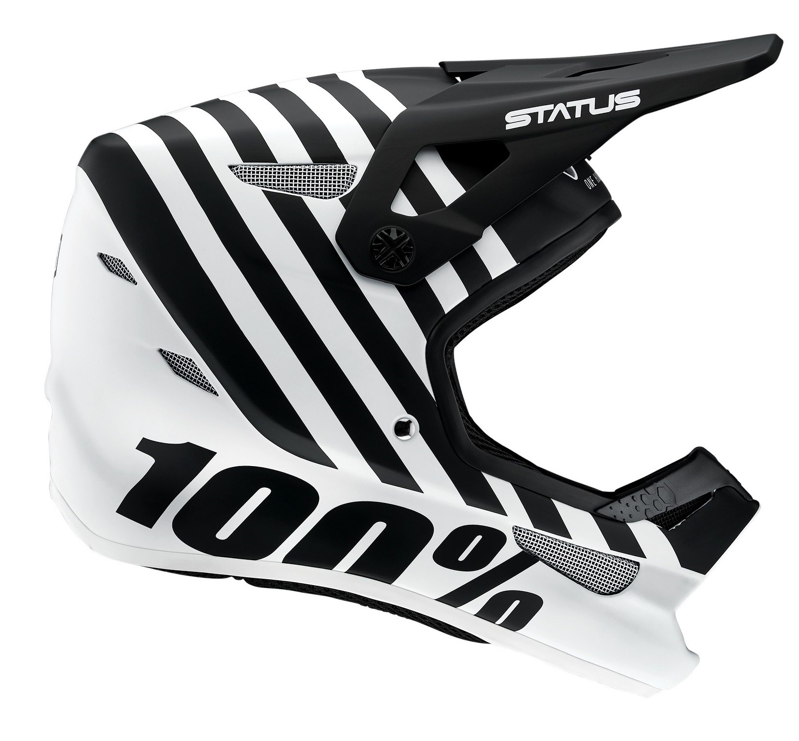 100 Percent Status Youth Full Face Helmet Arsenal