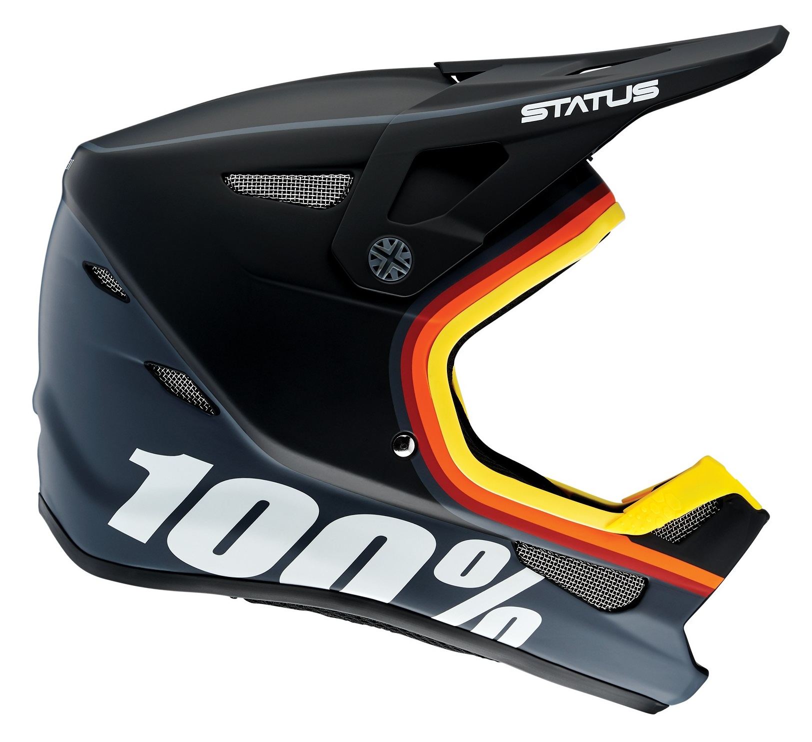 100 Percent Status Youth Full Face Helmet Kramer