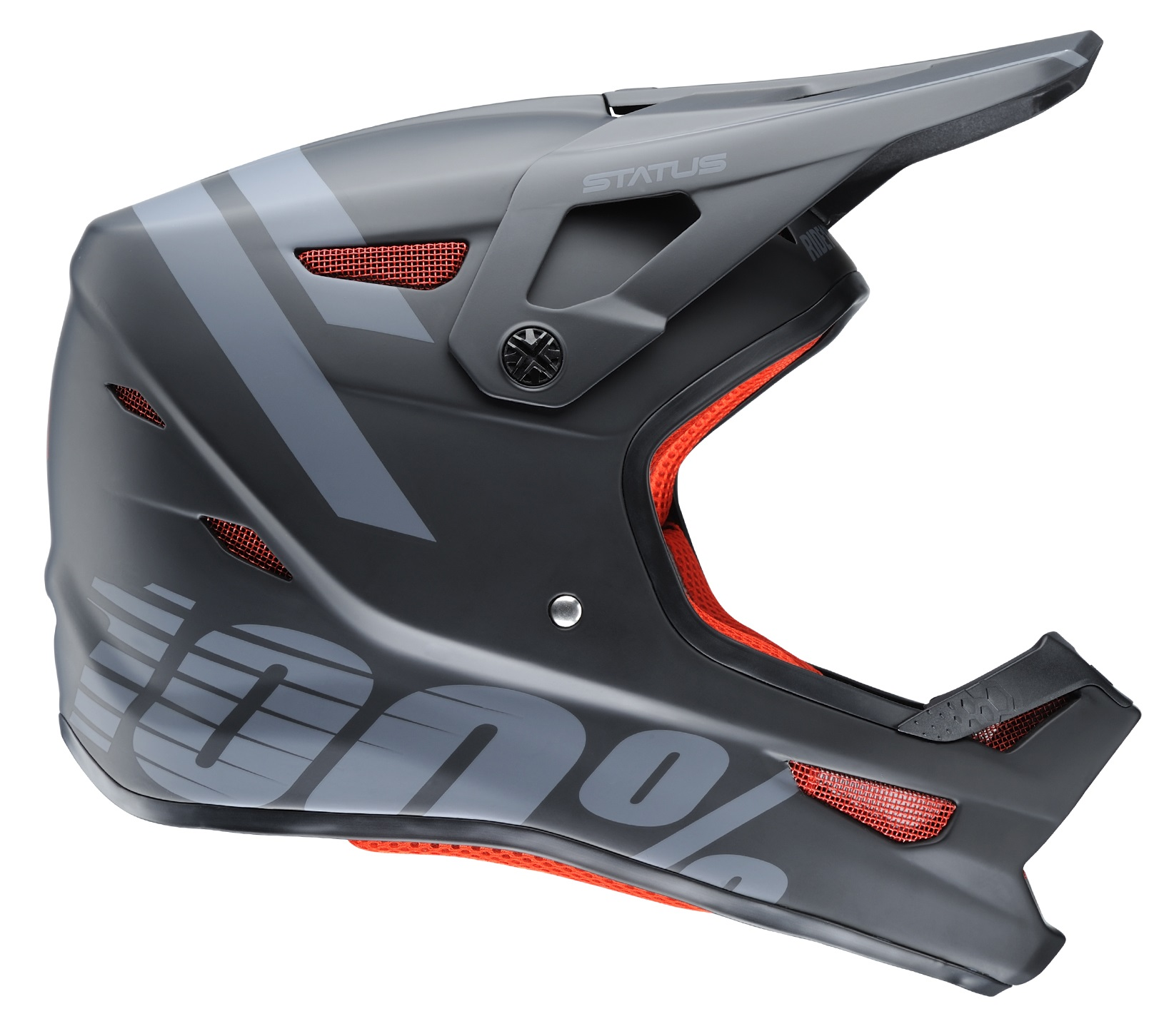 100 Percent Status Youth Full Face Helmet Meteor