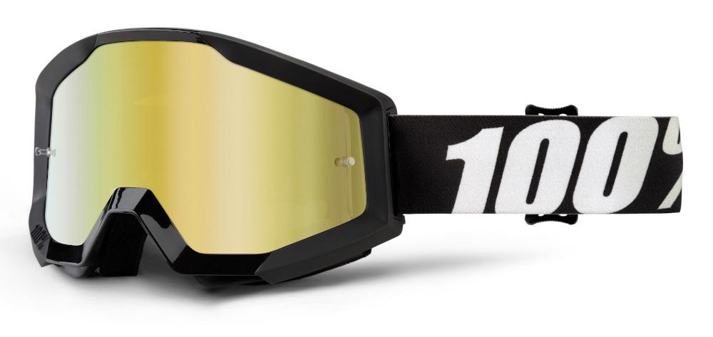 100 Percent Strata Sand Goggles Huntsitan/smoke Lens