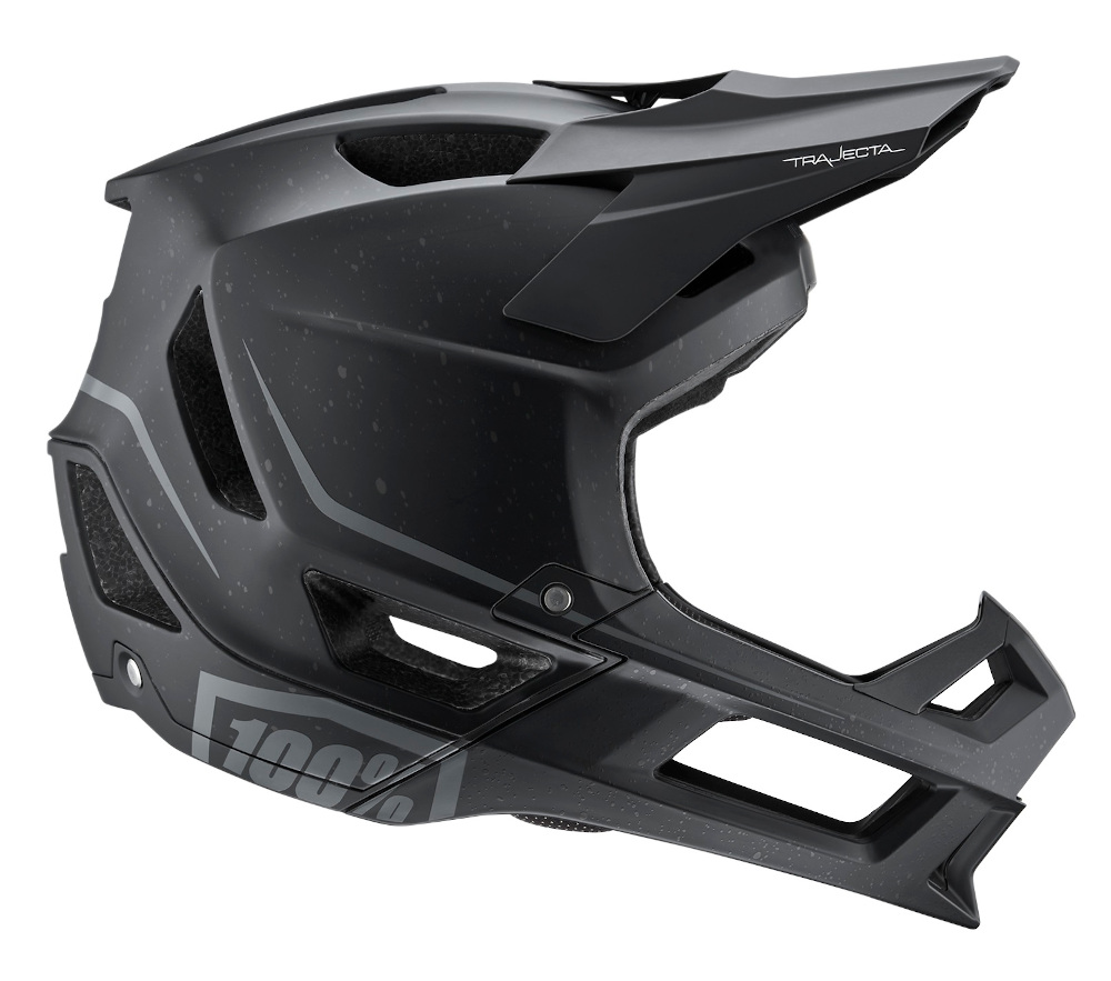 100 Percent Trajecta Full Face Helmet Black