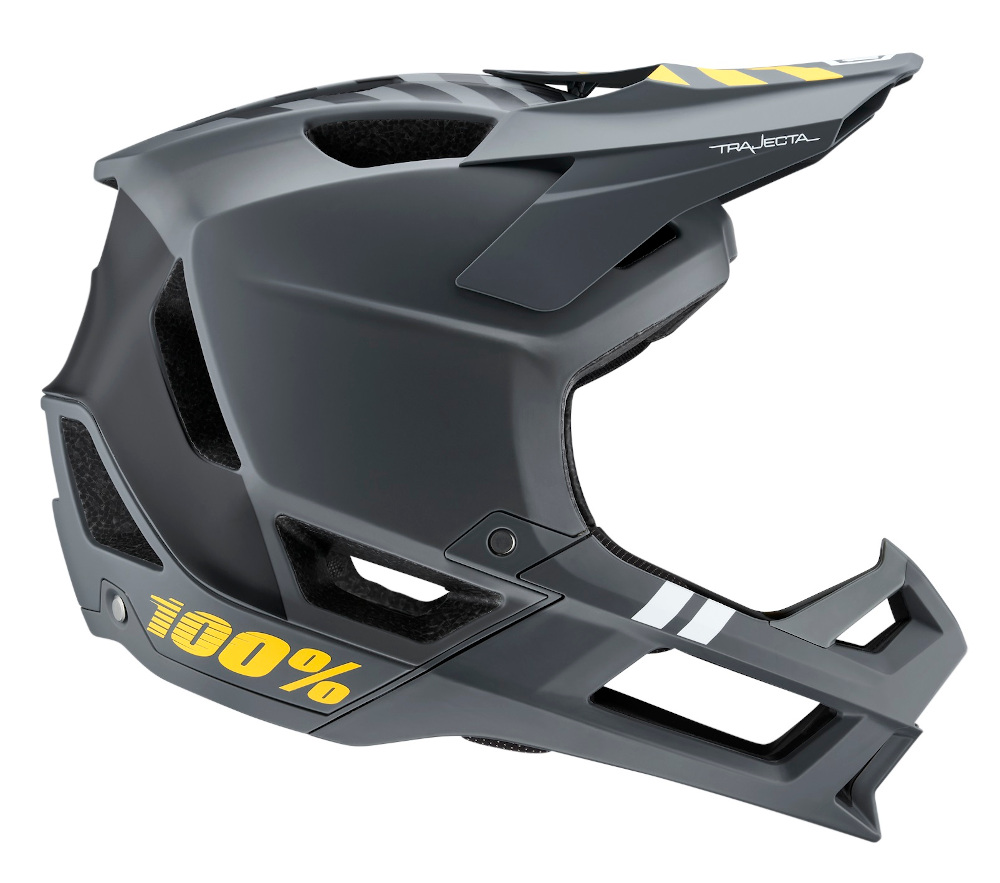 100 Percent Trajecta Full Face Helmet Charcoal