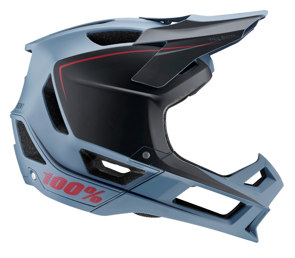 100 Percent Trajecta Full Face Helmet Slate Blue