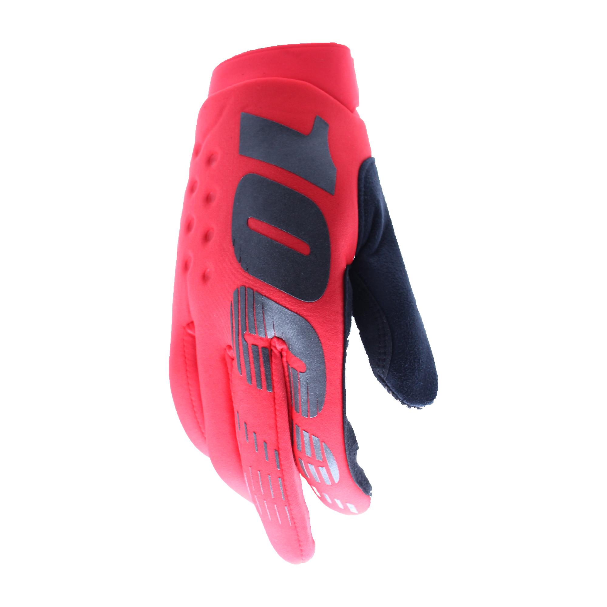 100 Percent Brisker Gloves Fluorescent Yellow