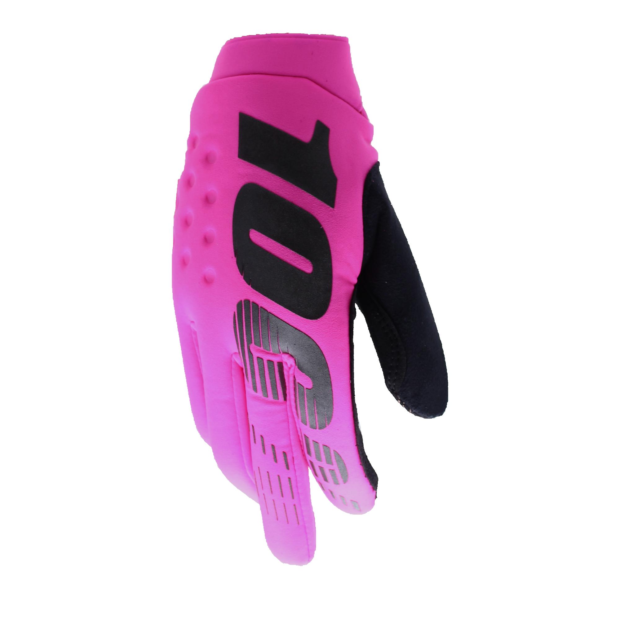 100 Percent Brisker Gloves Black/grey
