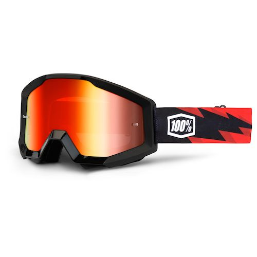 100 Percent Strata Sand Goggles Outlaw/smoke Lens