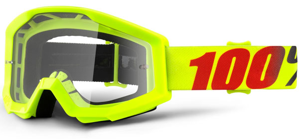 100 Percent Strata Sand Goggles Slash/smoke Lens
