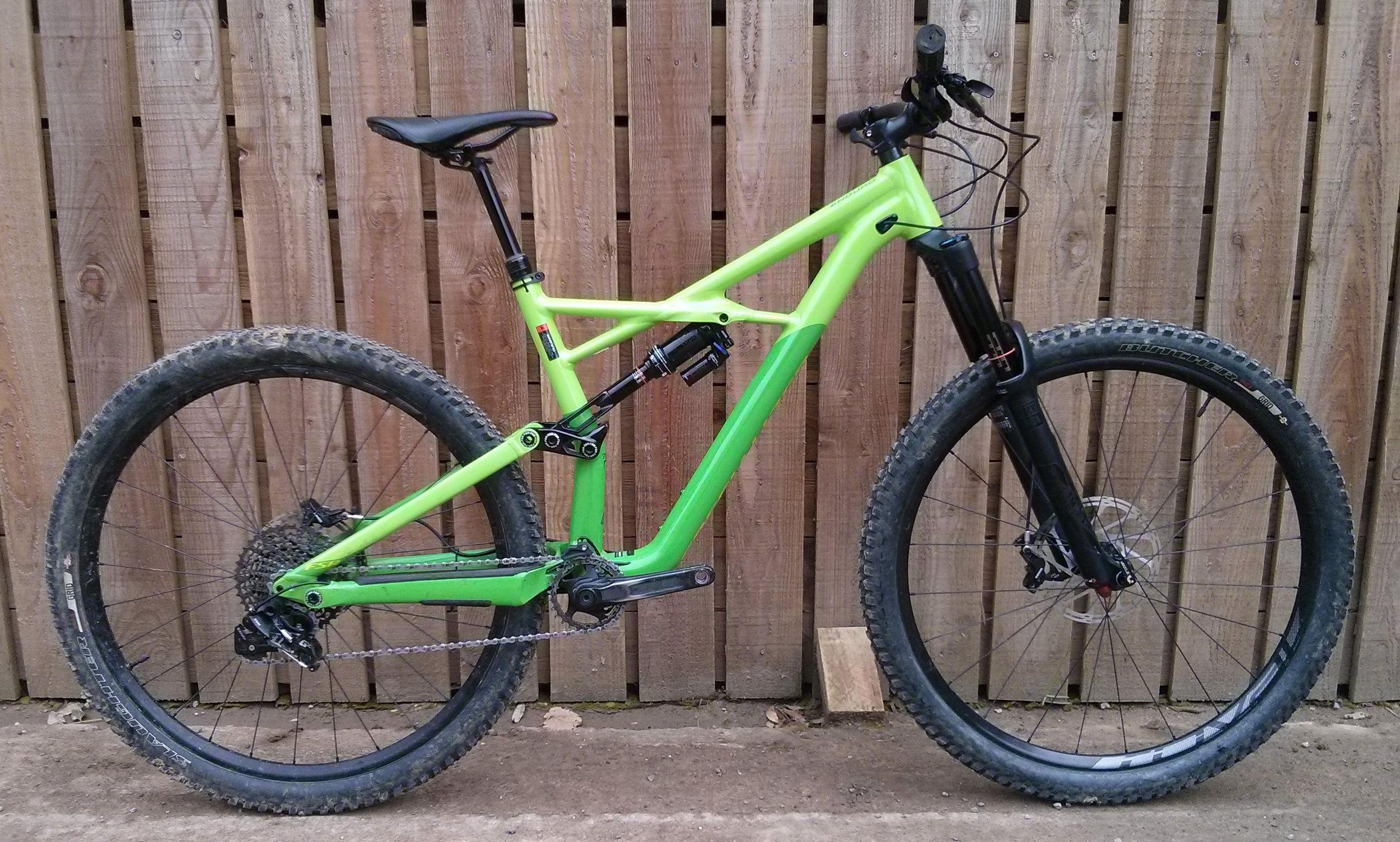 Ex Demo Specialized Enduro Comp 29er 2017 Large Green/Hyper
