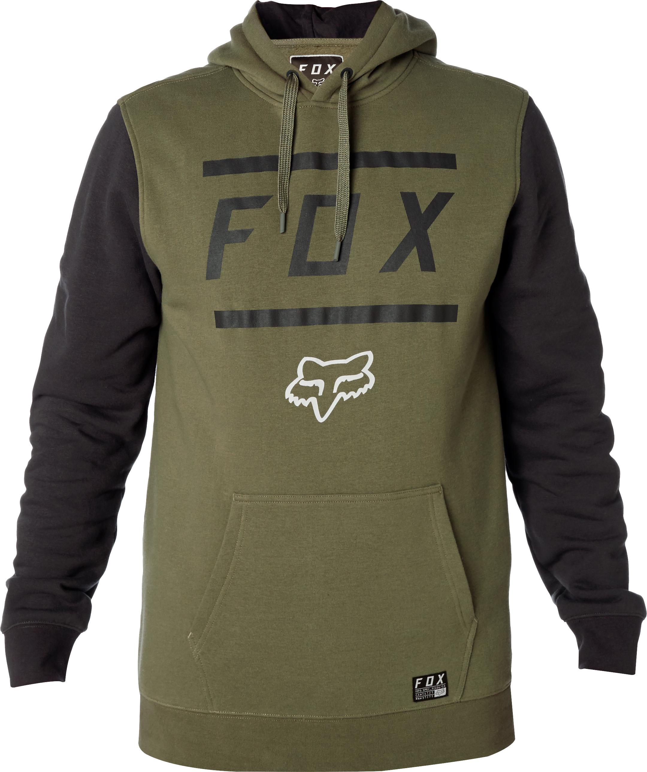 c26541de3a00 Fox Listless Pull Over Fleece Fatigue Green £44.99