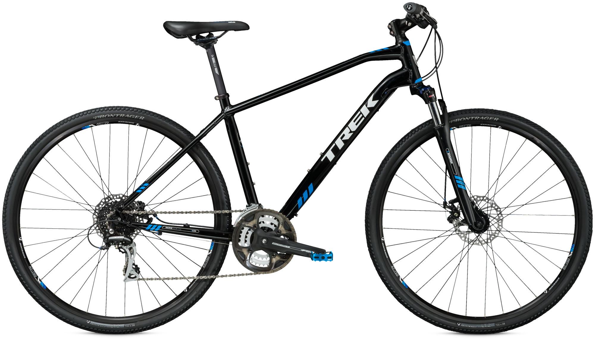 Trek 8 3 DS Hybrid Bike 2016 Black/Cyan/White £400 00