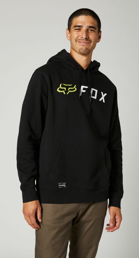 Fox Apex Pullover Fleece Hoodie Black