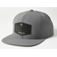 Fox Emblem Snapback Hat Pewter