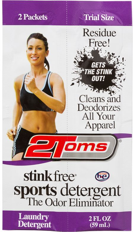 2toms Stink Free Detergent 2x59ml Trial Size Packets