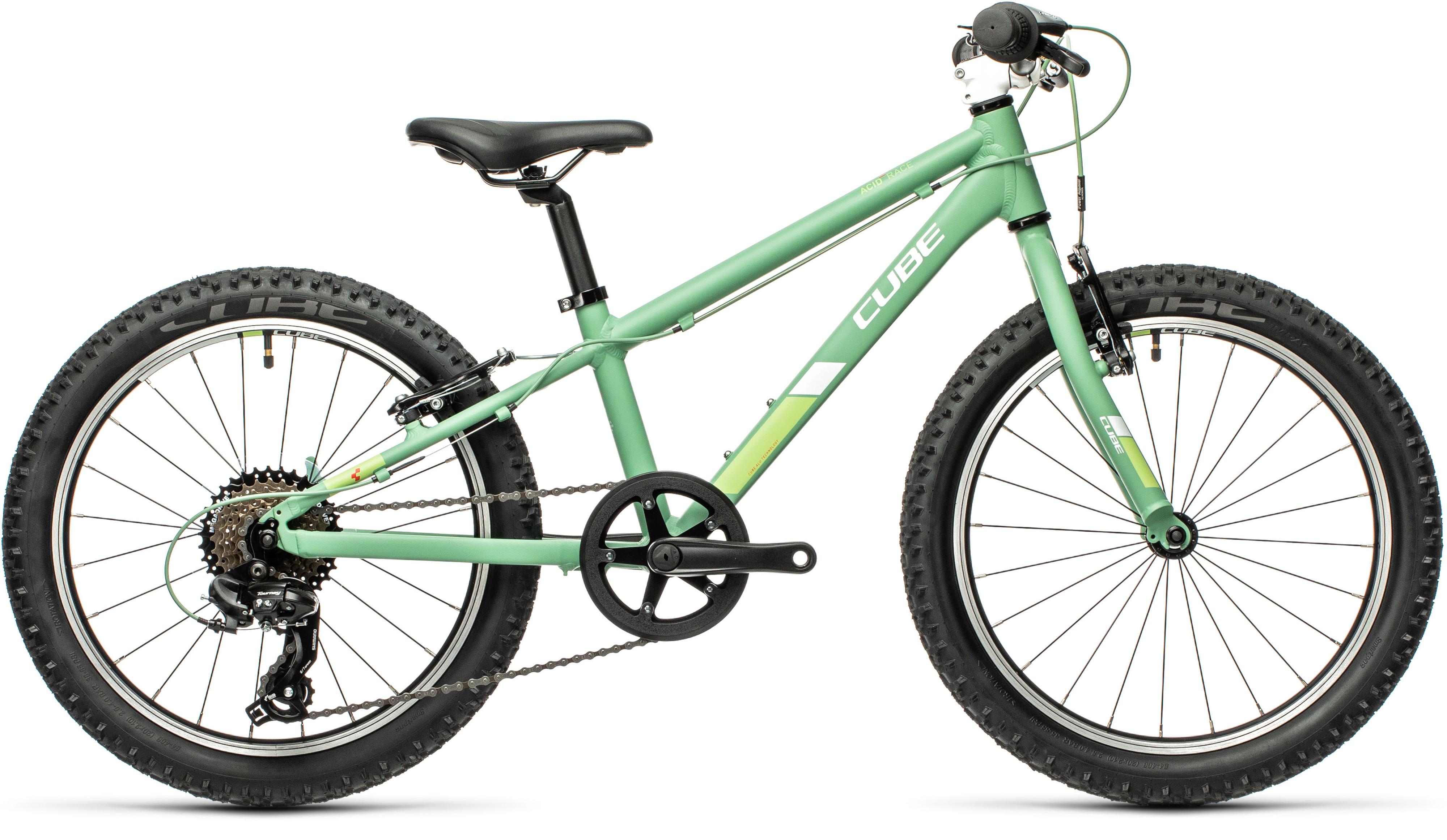 Cube Acid 200 20in Kids bike 2021 Green/White
